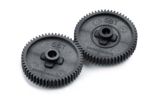 Tamiya TT01 Spur gear set 55/58T 53665