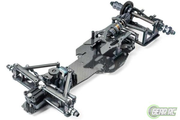 Tamiya 1op10 RC TRF102 Chassis Kit Black Edition