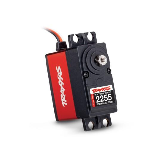 Servo, digital high-torque 400 (red) brushless, metal gear, ball bearing, waterproof