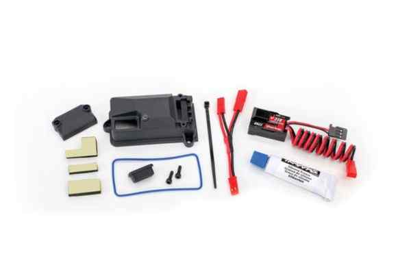 Traxxas BEC complete includes receiver box cover and seals