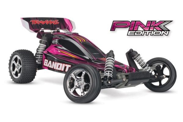 Traxxas Bandit RTR 2.4GHz TQ  (incl. battery and chrg) PINK