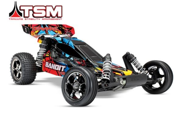 Traxxas Bandit VXL Brushless 2.4 GHz TSMno battery/charger