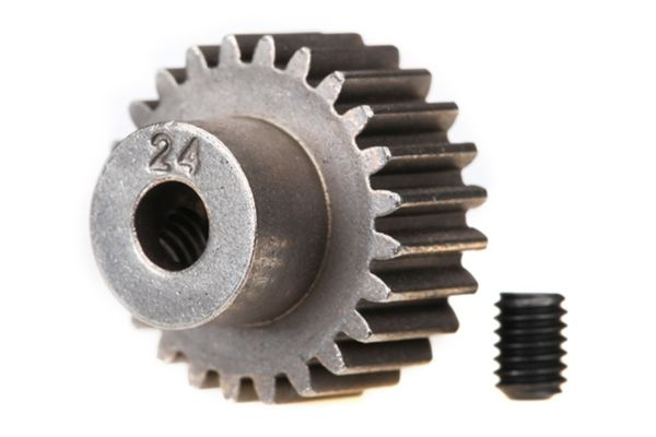 Gear, 24-T pinion (48-pitch) / set screw