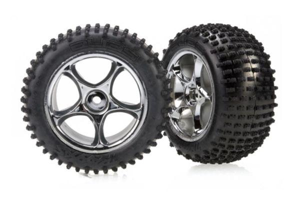 Tires & wheels, assembled (Tracer 2.2 chrome wheels, Alias 2