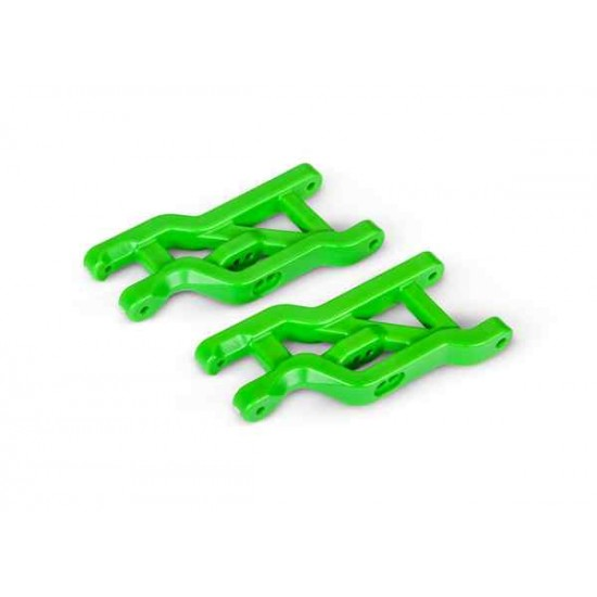 Suspension arms, green, front, heavy duty (2)