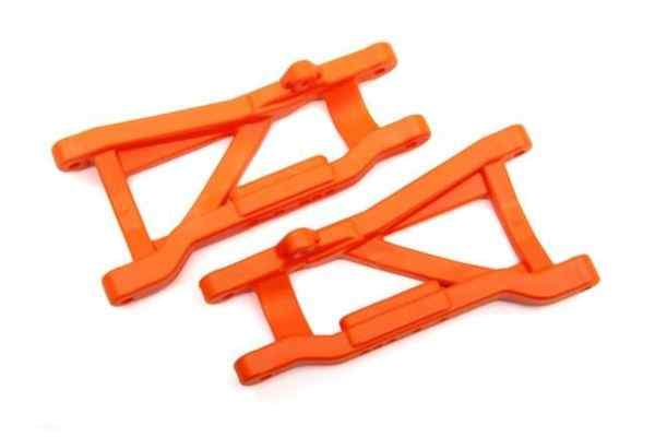 Suspension arms, (rear) (2) orange) (Heavy duty, cold weather material)