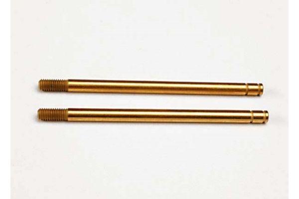 Shock shafts, hardened steel, titanium nitride coated (xx-lo