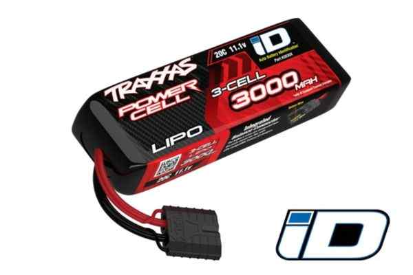 3000mAh 11.1v 3-Cell 20C LiPo Battery ATON!