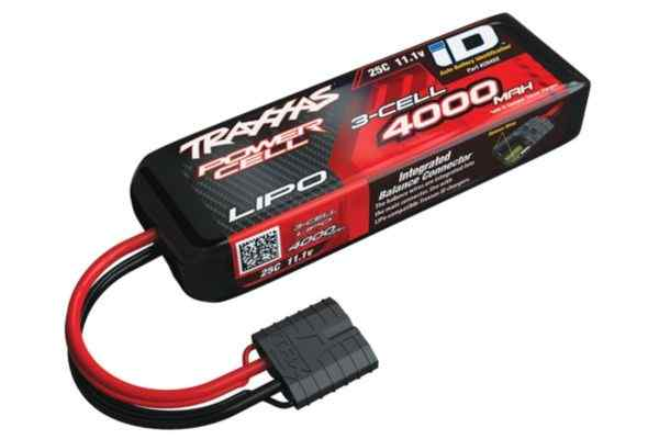 Power Cell LiPo 4000mAh 11.1V 3S 25C , all models  ID