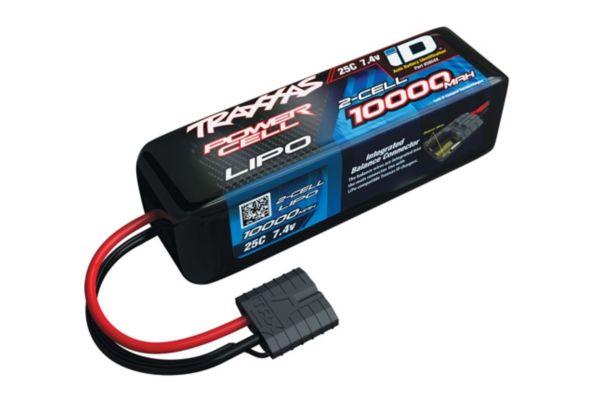 Power Cell LiPo 10000mAh 7.4V 2S 25C , Stampede Rustler   ID