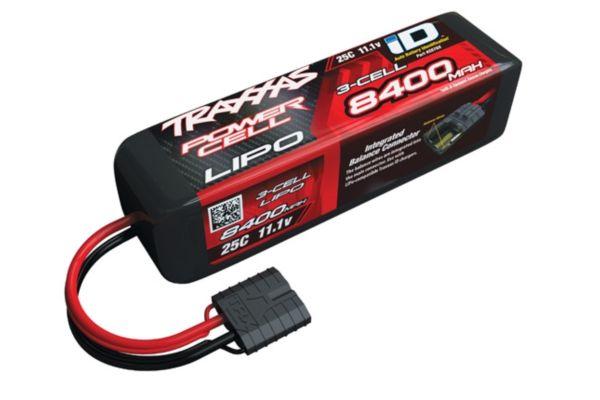 Power Cell LiPo 8400mAh 11.1V 3S 25C , Slash & Slash 4x4 wit