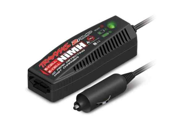 Charger, DC, 2 amp (5 - 6 cell6.0 - 7.2 volt, NiMH)
