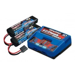 Traxxas 4S (2X 2869X 7.4V LiPO& 1X 2972G duo charger