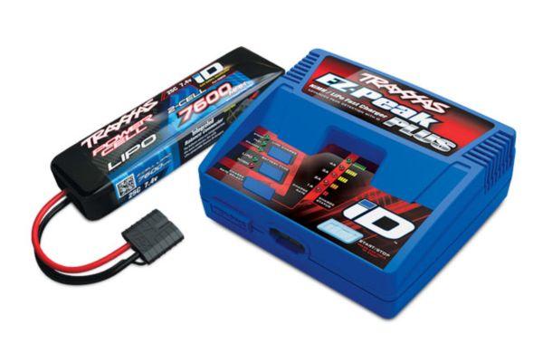 Traxxas 2S (1X 2869X 7.4V LiPO& 1X 2970G ID charger