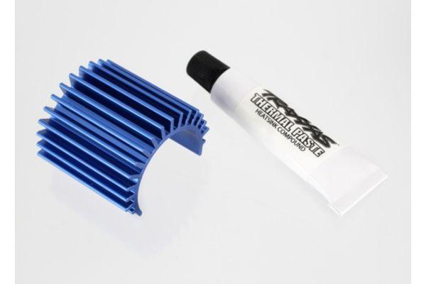 Finned Aluminum Heatsink 1/16 brushless motor