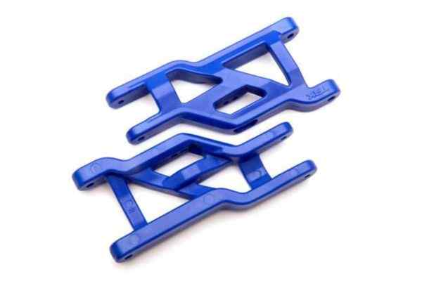 Suspension arms (front) (2)  (blue)  (Heavy duty, cold weather material)