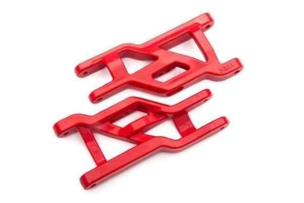 Suspension arms (front) (2)  (red)  (Heavy duty, cold weather material)