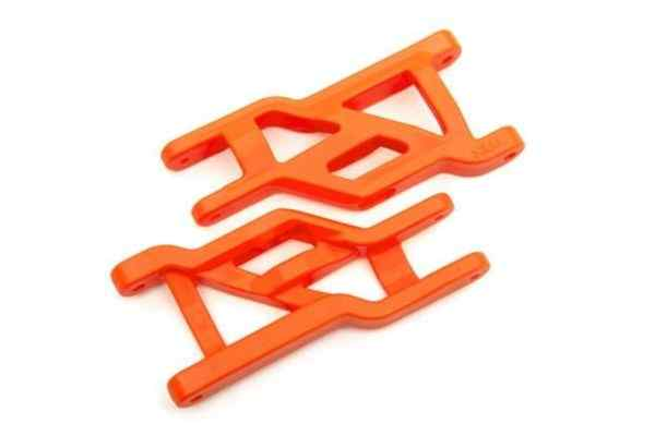 Suspension arms (front) (2)  (orange)  (Heavy duty, cold weather material)