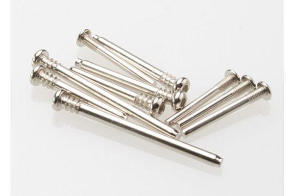 Suspension screw pin set, steel (hex drive) (requires part #