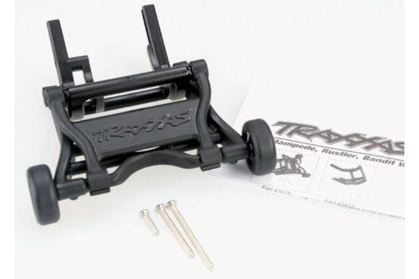 Wheelie bar, assembled (fits Stampede, Rustler, Bandit serie