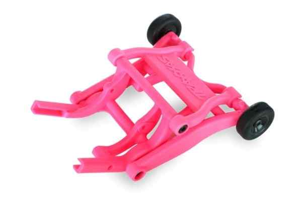 Wheelie bar, assembled (PINK)  (fits Stampede, Rustler, Band
