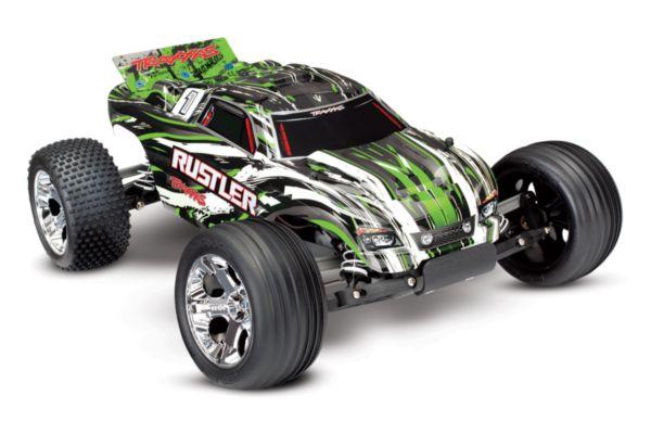 Traxxas Rustler RTR 2.4GHz  groen zonder batterij en charger