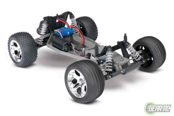 Traxxas Rustler RTR 2.4GHz    Rock&Roll (NO Battery/Charger)