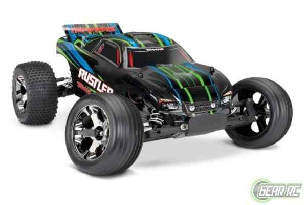 Traxxas Rustler VXL Brushless With TSM  No battery / Charger