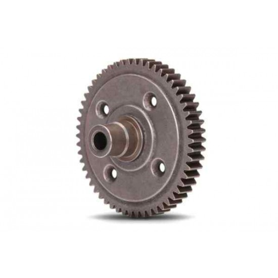 Spur gear, steel, 54-tooth (0.8 metric pitch, compatible with 32-pitch) (for cen