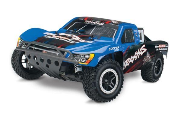 Traxxas Nitro Slash TQ 2.4GHz TSM blue