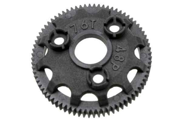 Spur gear, 76-tooth (48-pitch) (for models with Torque-Contr