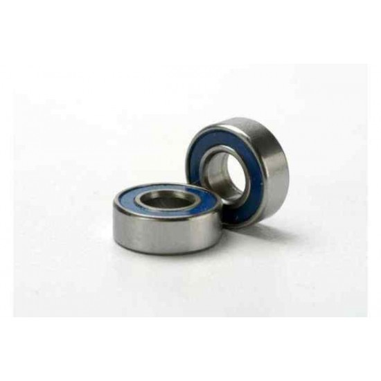 5x11x4mm (2)Ball bearings blue rubber sealed