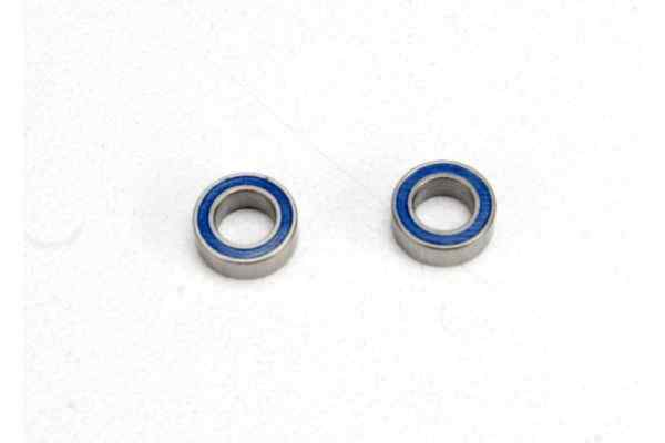 4x7x2.5mm (2)Ball bearings blue rubber sealed
