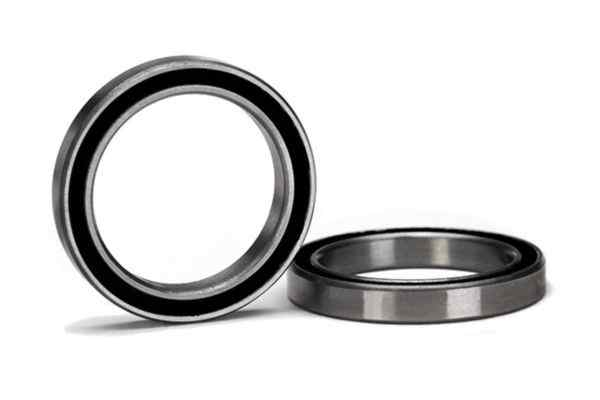 20x27x4mm (2)Ball bearing black rubber sealed