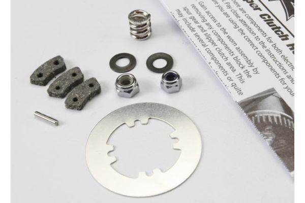 Rebuild kit, slipper clutch (steel disc/ friction pads (3)/
