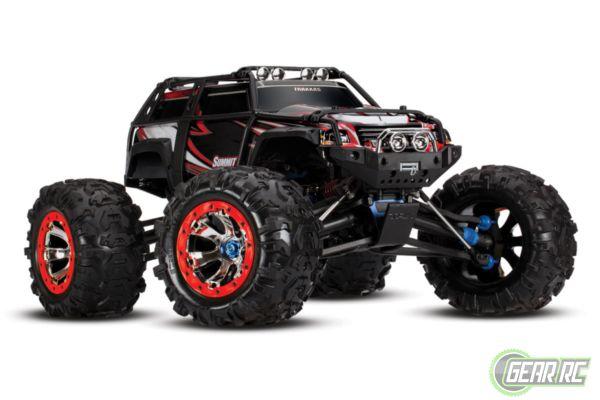 Traxxas Summit 4 wiel aangedreven monster zwart met  Bluetooth optie zonder accu en lader