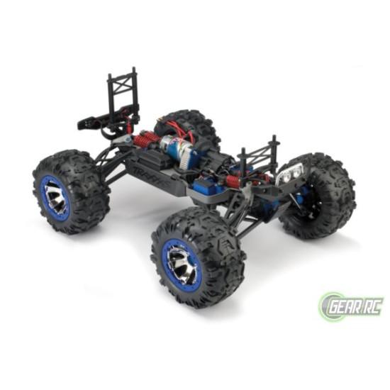 Traxxas Summit 4 wiel aangedreven monster paars met  Bluetooth optie zonder accu en lader