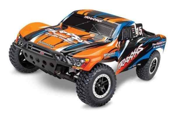 Traxxas Slash TQ 2.4GHz Orange met accu en 12v lader