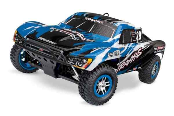 Traxxas Nitro Slayer 2.4GHz   TQi With TSM Blauw