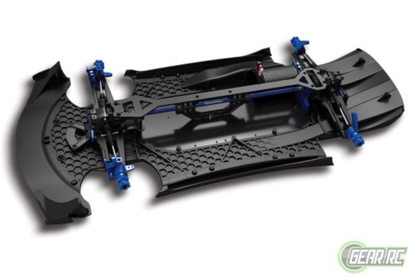 Traxxas XO-1 Supercar (no lipos)  TSM black