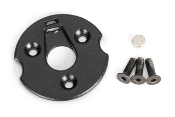 Telemetry trigger magnet holders, spur gear/ magnet, 5x2mm (