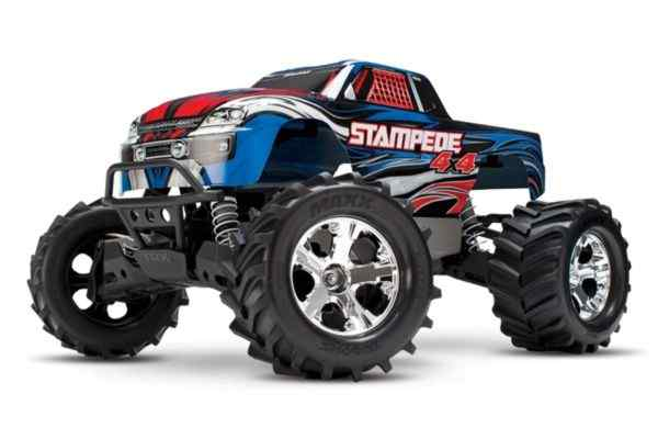 Traxxas Stampede 4x4 XL5 brushed blue
