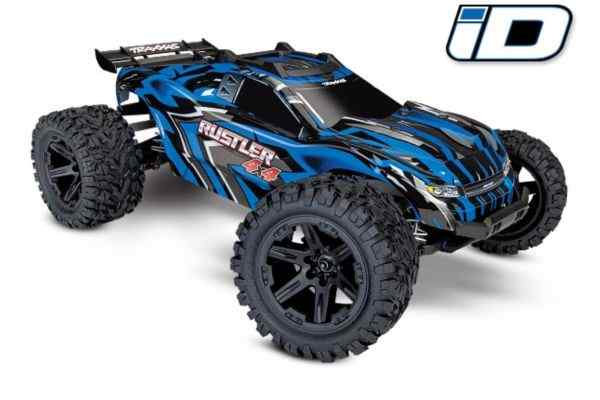 Rustler 4X4 1/10-scale 4WD Stadium Trucwith battery and charger