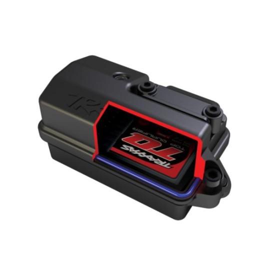 Rustler 4X4 1/10-scale 4WD Stadium Truck rood met batterij en 12v lader