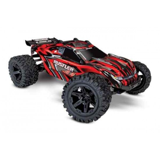 Rustler 4X4 1/10-scale 4WD Stadium TrucNo battery and charger