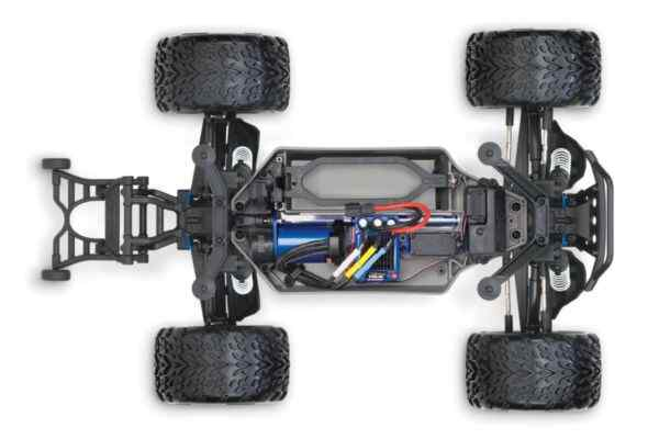 Traxxas Stampede 4x4 VXL rood 1/10 brushless zonder accu en lader
