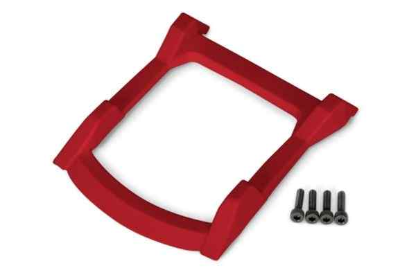 Skid plate, roof (body)/ 3x12mm CS (4) RED