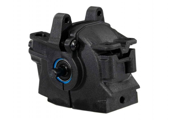 Differential, front (complete with pinion gear and differential plastics) (fits 1/10-scale 4X4 Slash, Stampede, Rustler, Rally)