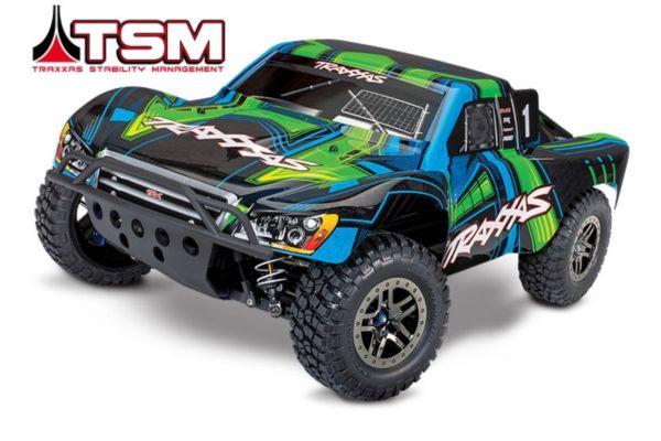 Traxxas slash 4X4 Ultimate TSM green zonder batterij en lader