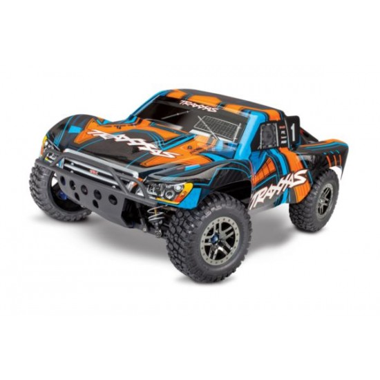 Traxxas slash 4X4 Ultimate TSM oranje zonder batterij en lader